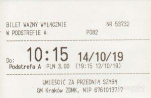 Parkovací lístok